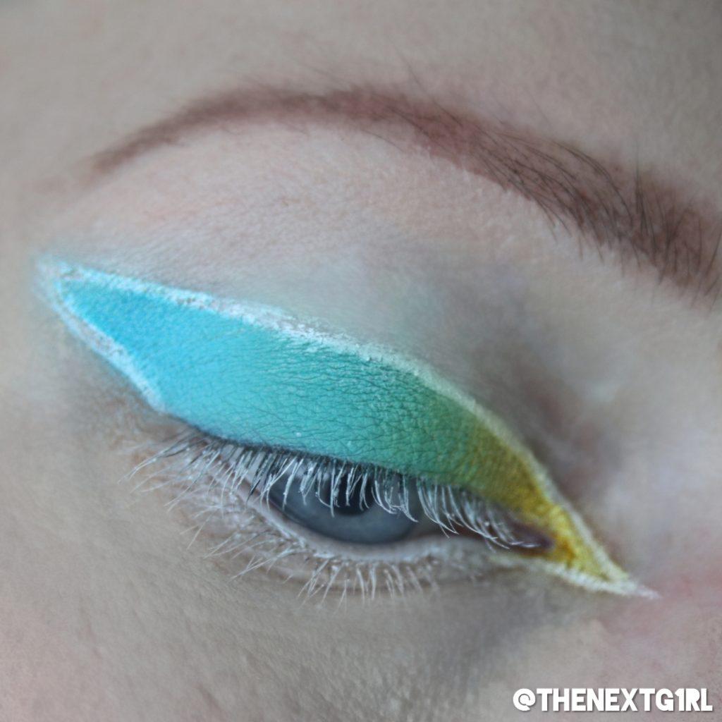 Ooglook met Thirsty oogschaduwpalette Jeffree Star Cosmetics