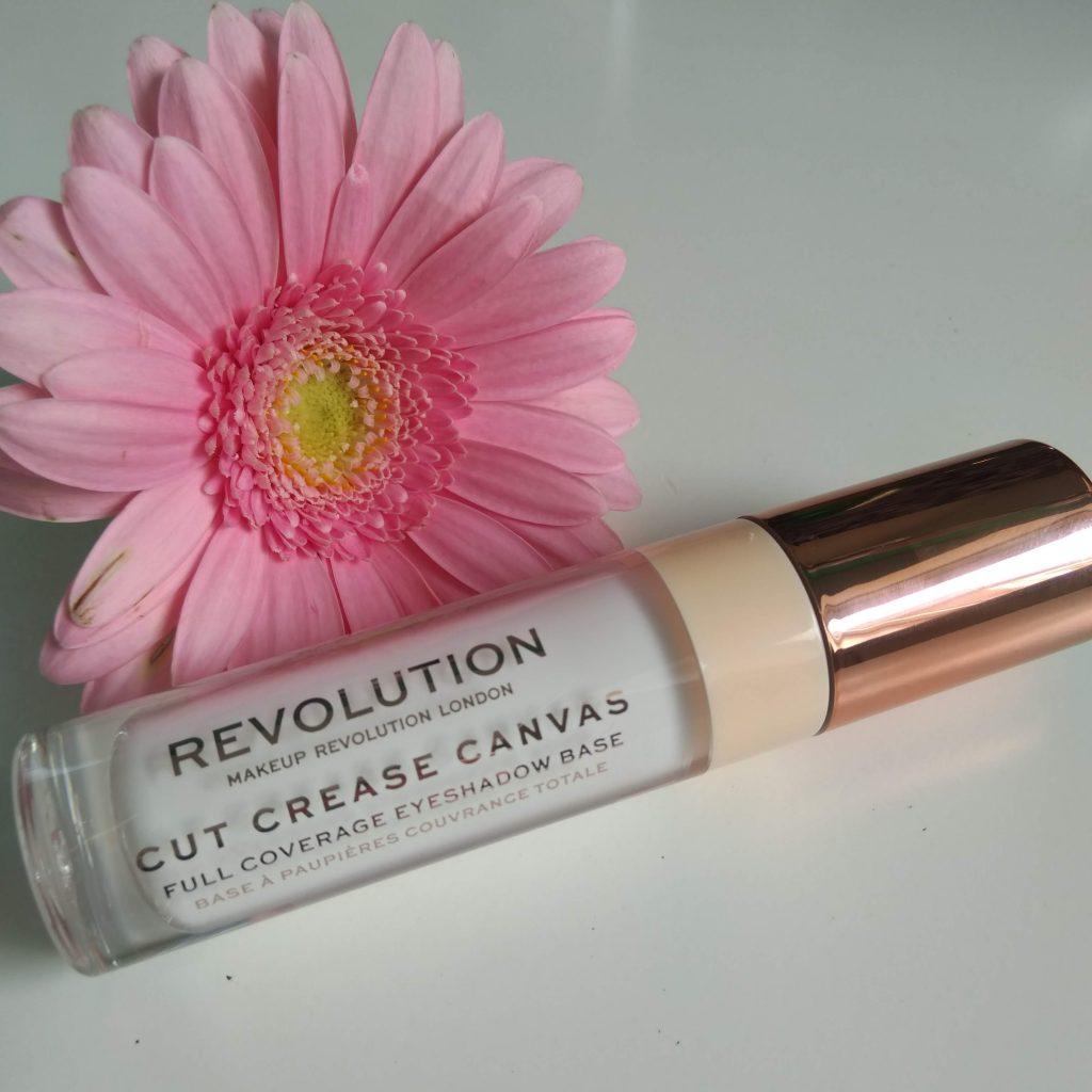 Cut Crease Canvas van Makeup Revolution voor cutcrease ooglook