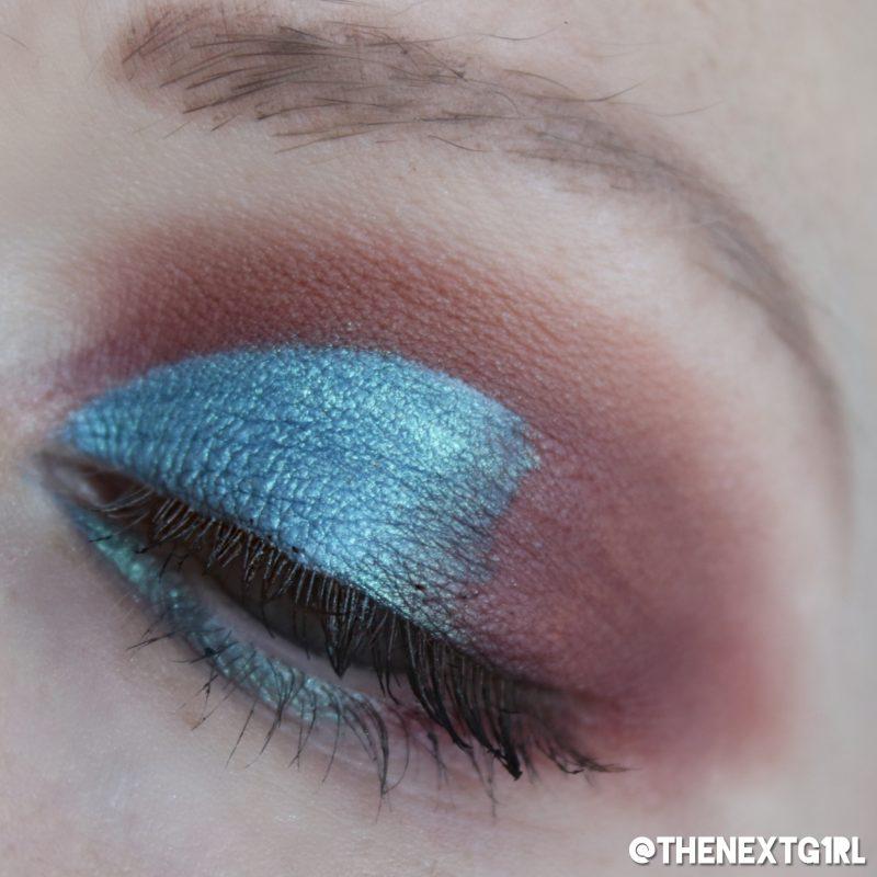 Ooglook met minerale loose pigment oogschaduw