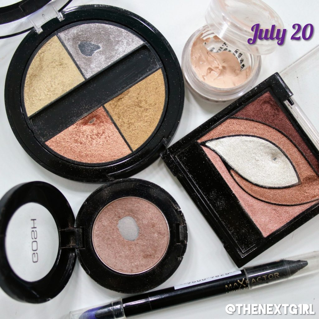 Project Pan update on eyeshadows july 20 2019