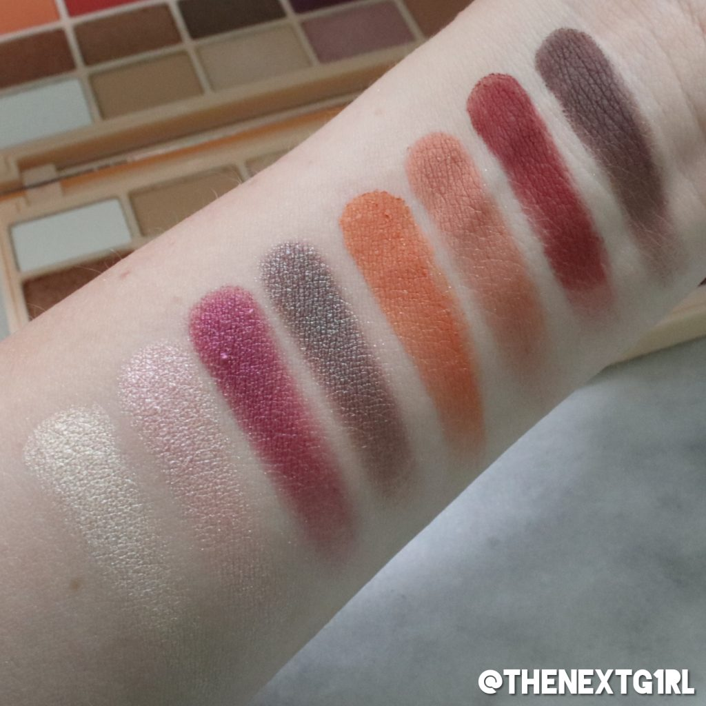 Swatches Revolution x Soph palette