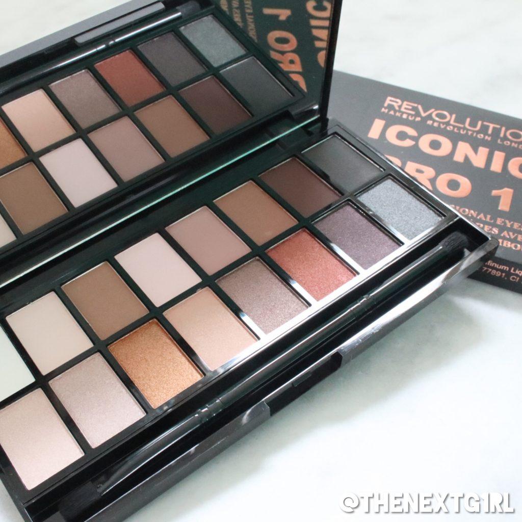 Makeup Revolution Iconic Pro 1 oogschaduwpalette