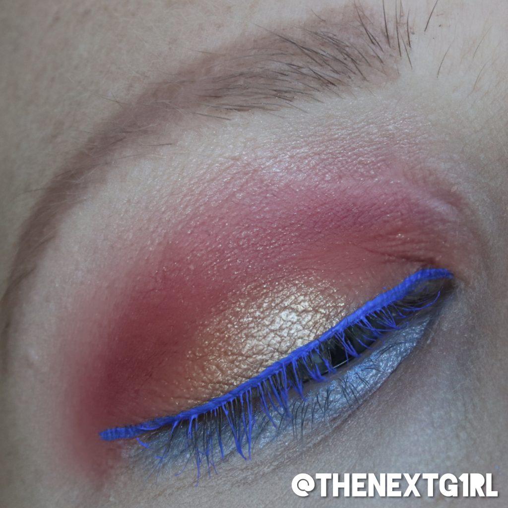 Ooglook met Makeup Revolution x Soph palette sunset