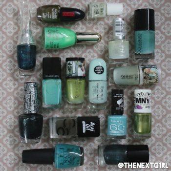 Stashpeek: groene nagellak