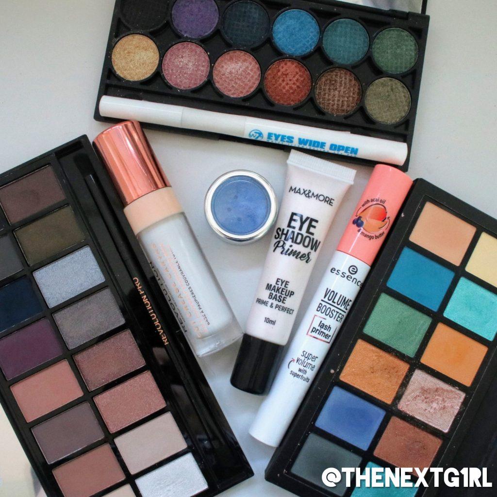 Gebruikte producten Makeup Revolution ICE ooglook Sleek iDivine Original
