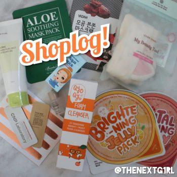 Shoplog:  Koreaanse skincare van MeSoYou