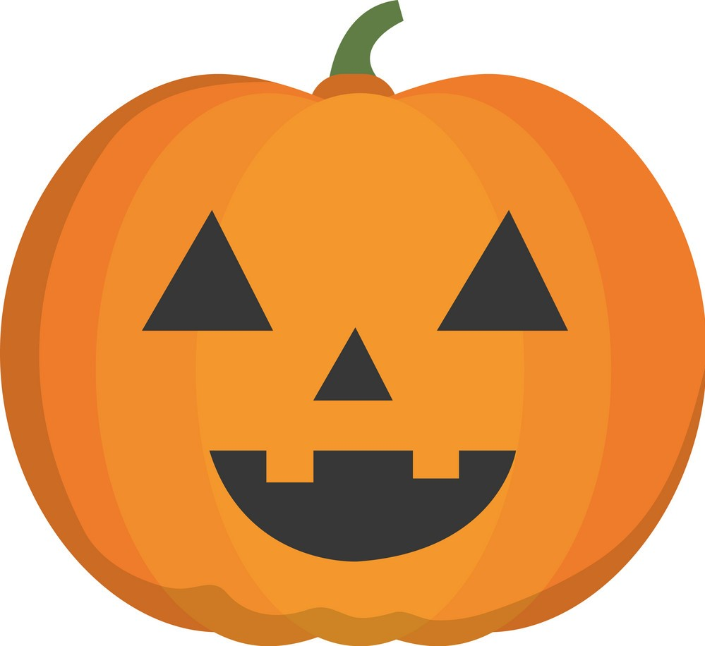Halloween pumpkin pompoen