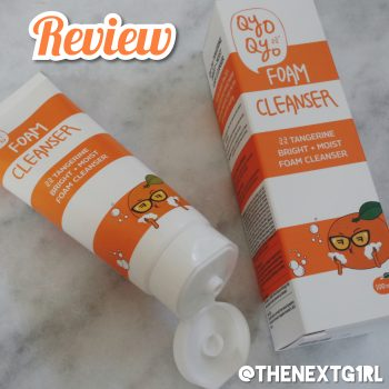 Review: Qyo Qyo Foam Cleanser