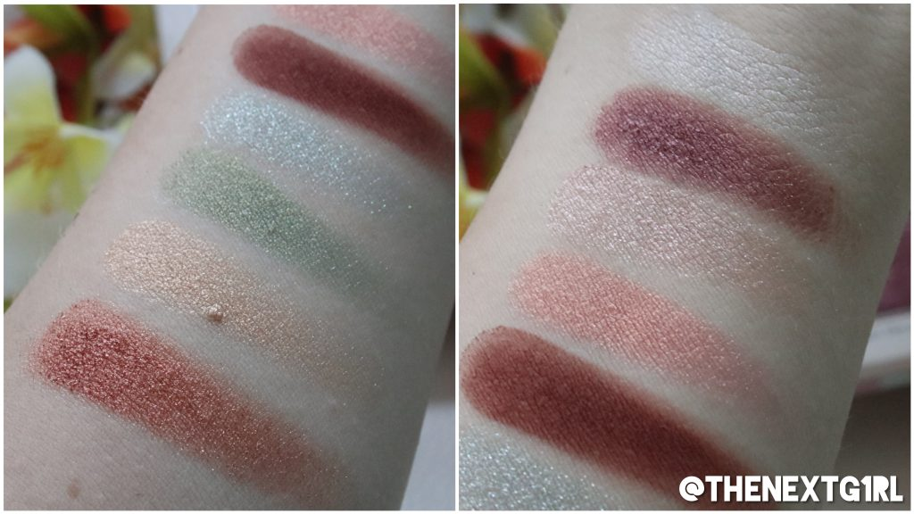 Essence Crystal Power 2019 oogschaduwpalette swatches