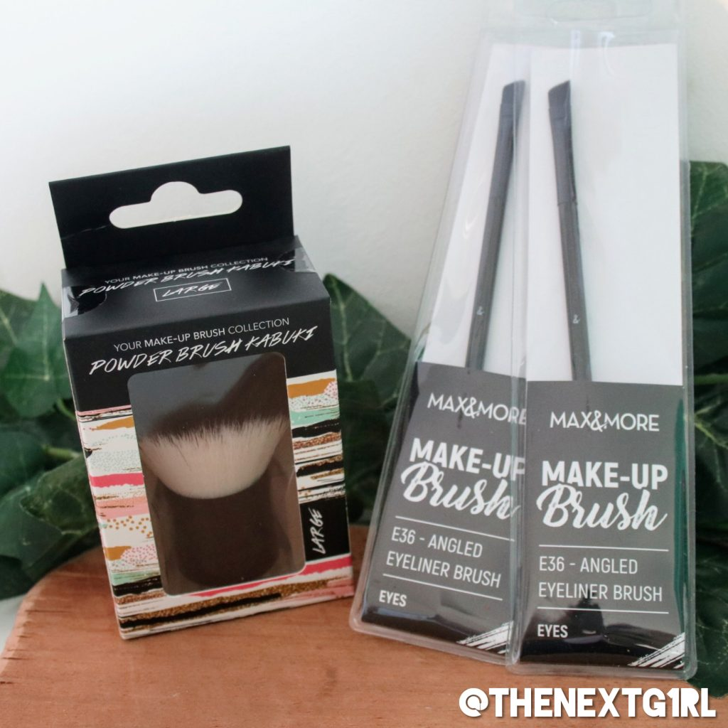 Max & More Action kwasten makeup kabuki angled