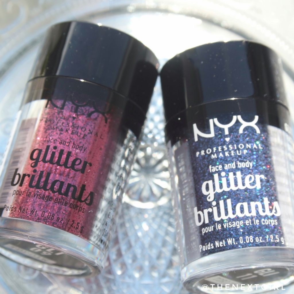 NYX cosmetics glitterprimer glitter brillants