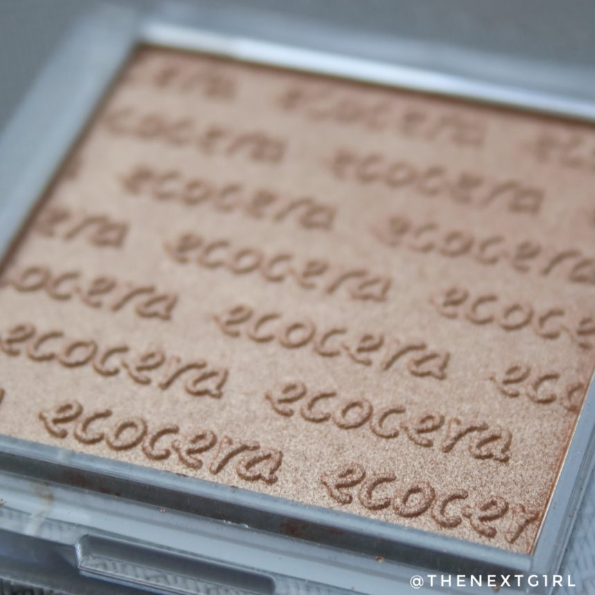 Ecocera benelux vegan Bali bronzer Close-up