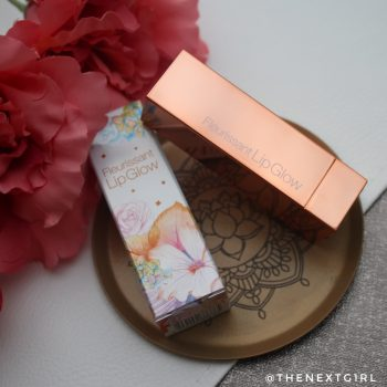 Review: GlamFox Fleurissant Lip Glow