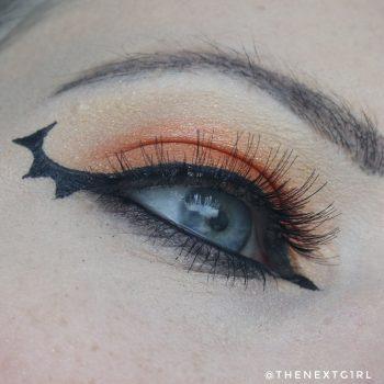 Ooglook: Halloween vleermuis wing