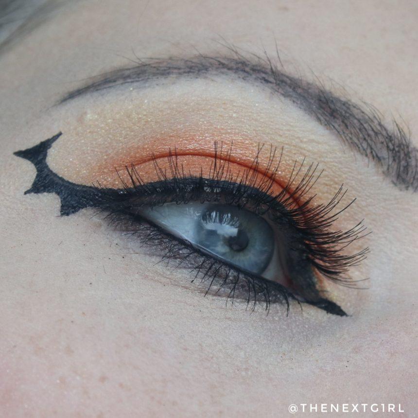 Halloween ooglook vleermuis bat wing
