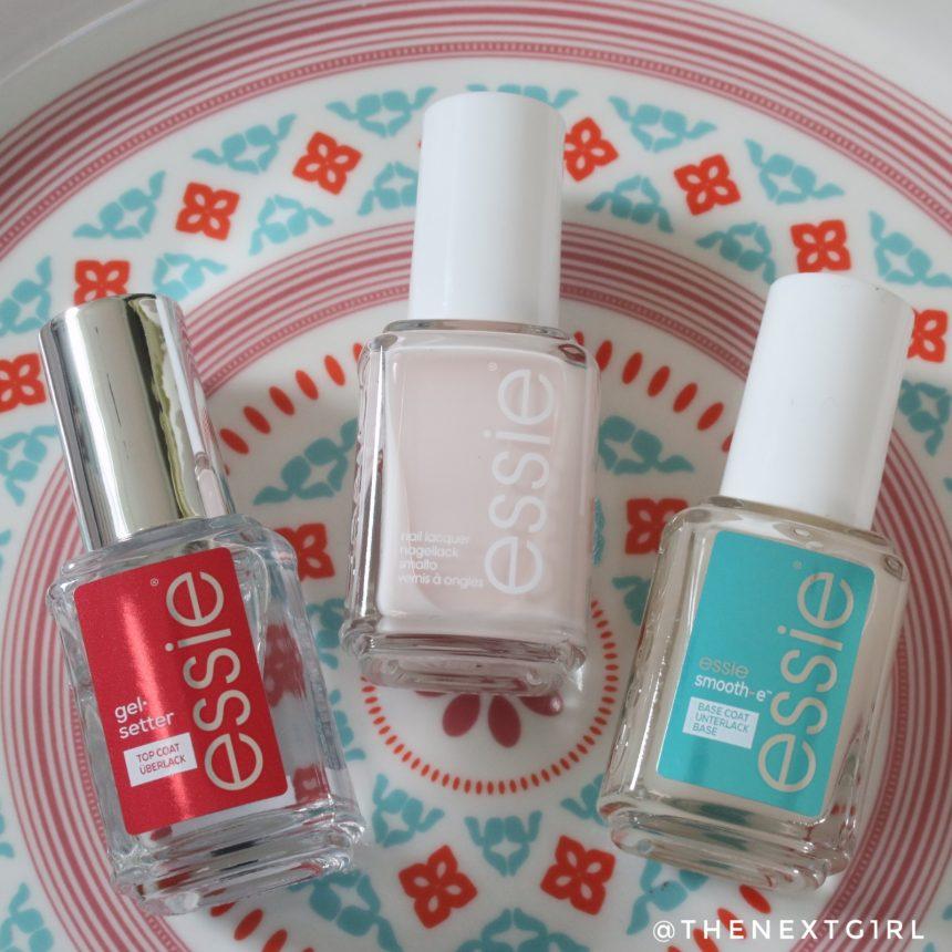 Essie 6 Ballet slippers lichtroze nagellak basecoat topcoat