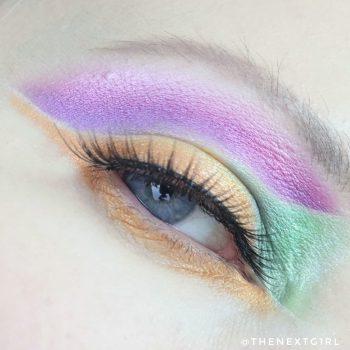 Ooglook: Kleurvlakken met Sprinkles palette
