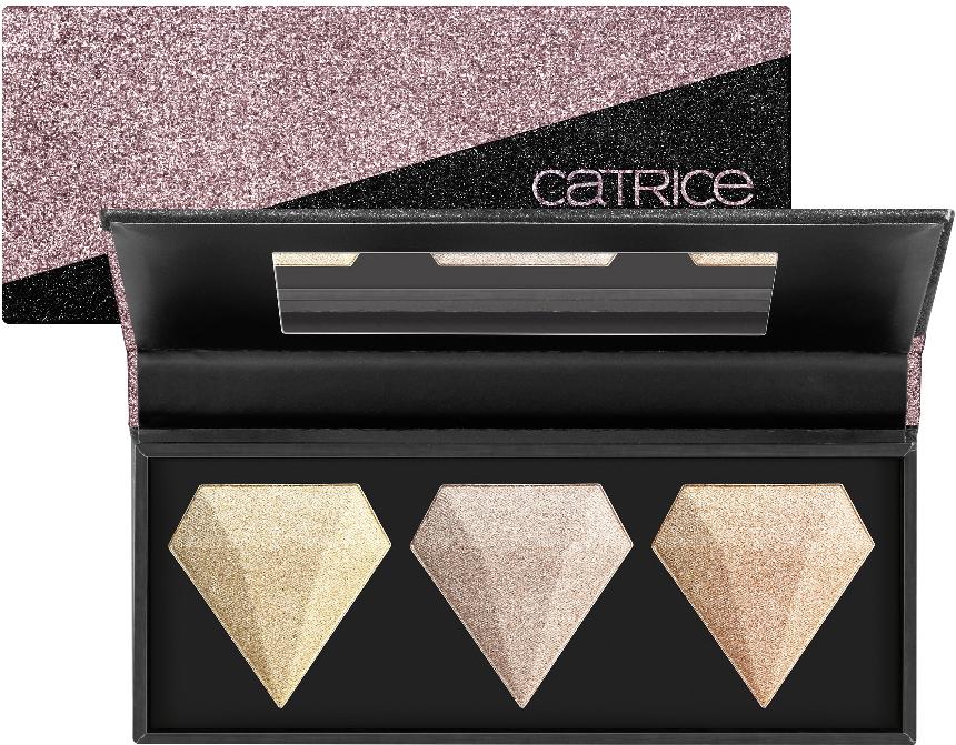 Catrice Glitterholic 2019 2020 highlighters trio