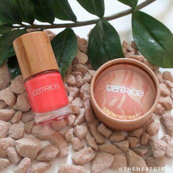 Catrice Pure Simplicity blush en nagellak