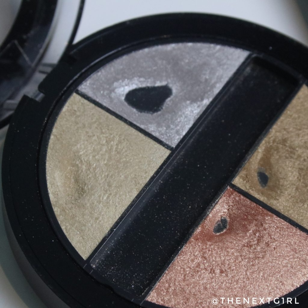 Project Pan update november 2019 Gosh quattro oogschaduw