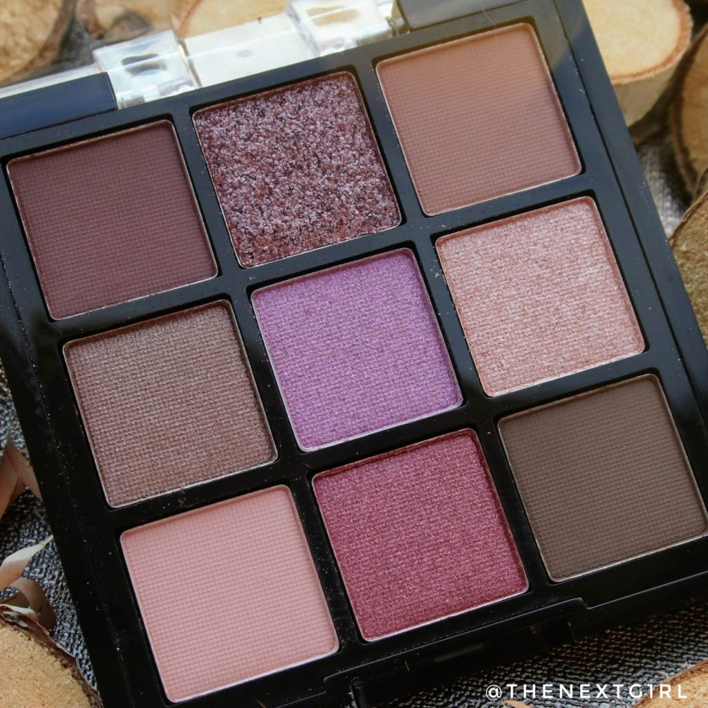Lottie Londen The Mauves palette oogschaduw