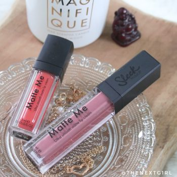 Sleek Matte Me liquid lipsticks