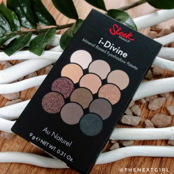 Sleek i-Divine Au Naturel oogschaduwpalette
