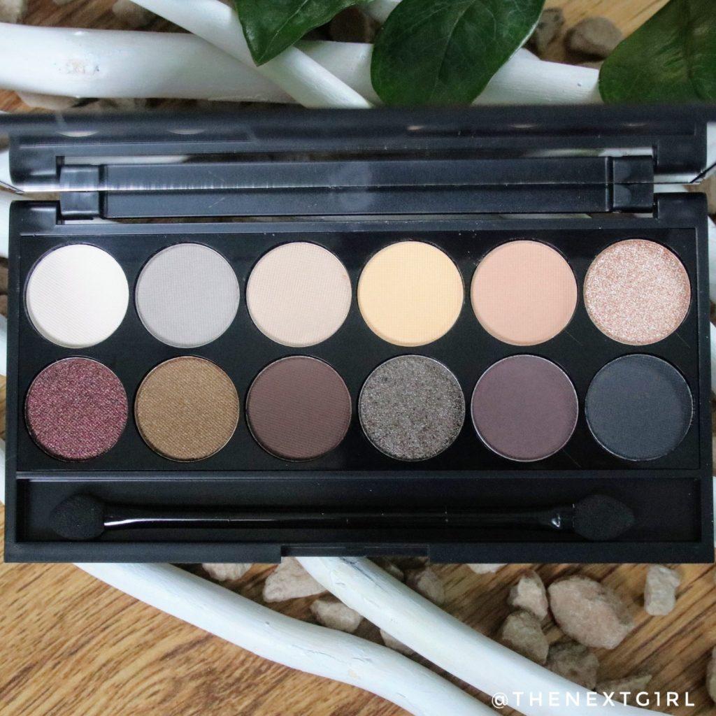 Sleek Makeup iDivine oogschaduwpalette aardetinten au naturel