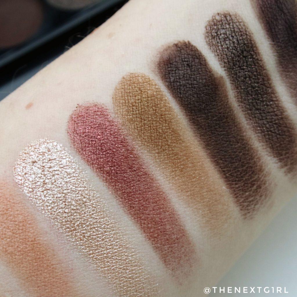 Sleek Makeup i-Divine Au Naturel oogschaduwpalette swatches shimmers
