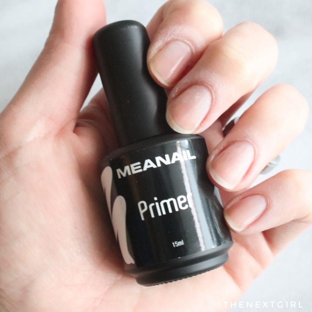 Meanail Primer als eerste laag voor gelnagels