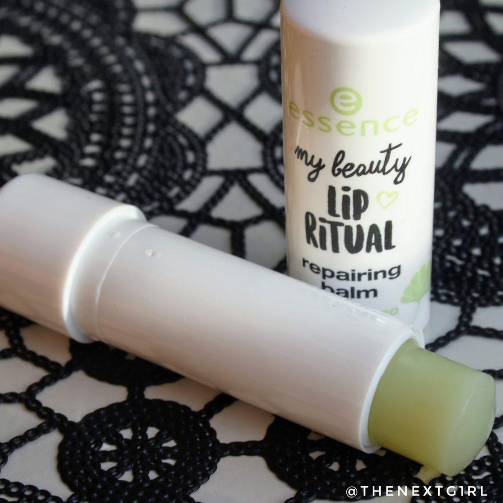 Essence My Beauty Lip Ritual Repairing lipbalm ginkgo