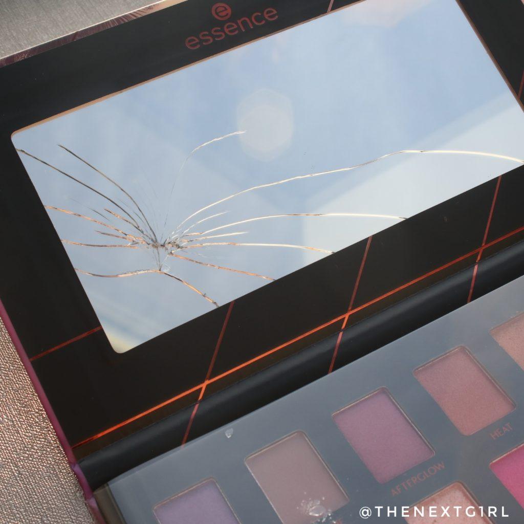 Essence Epic Sunset oogschaduwpalette 2019 gebroken spiegel