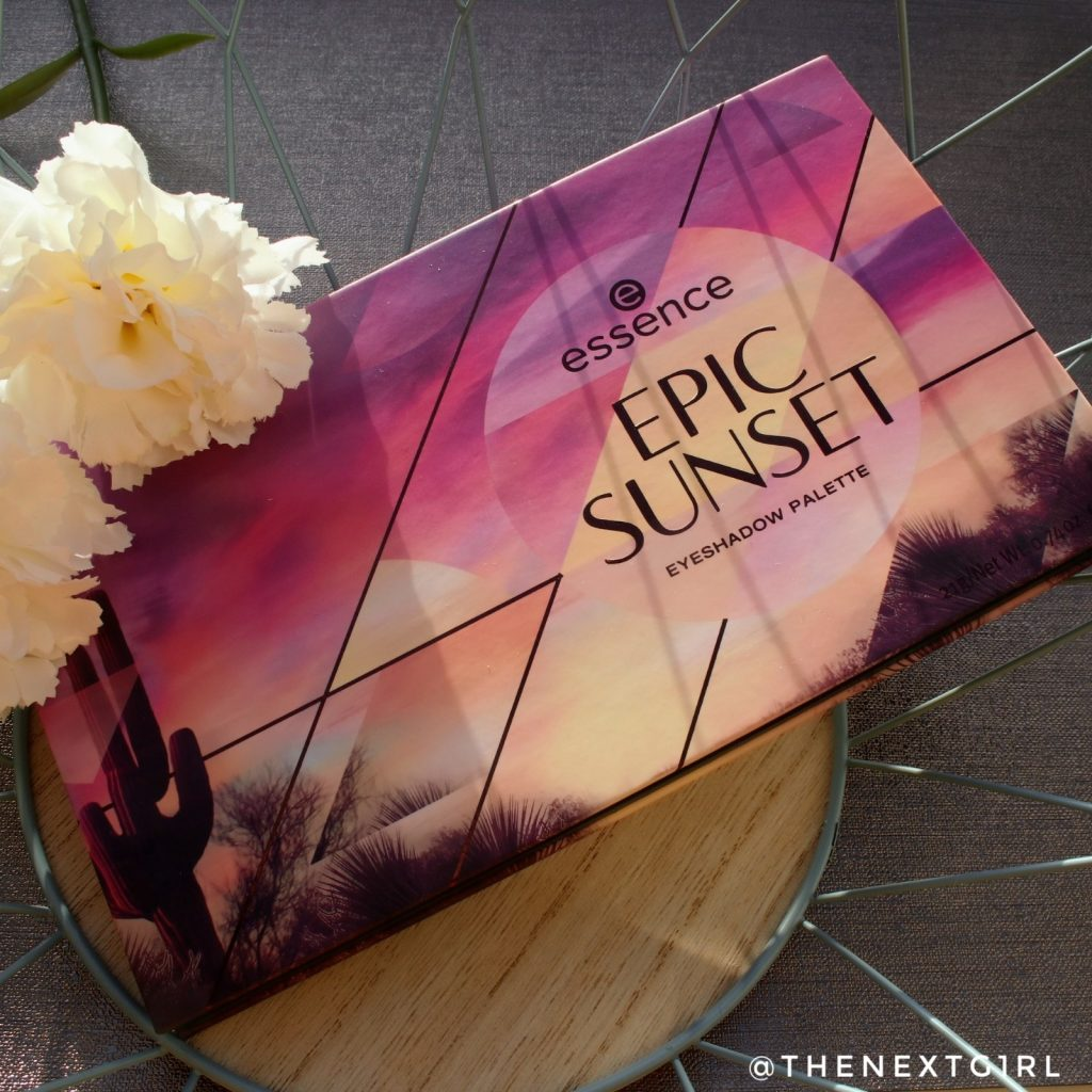 Essence Epic Sunset oogschaduwpalette herfst 2019