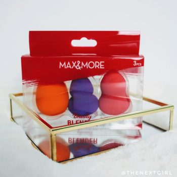 Max&More 3 beautyblenders foundation sponzen