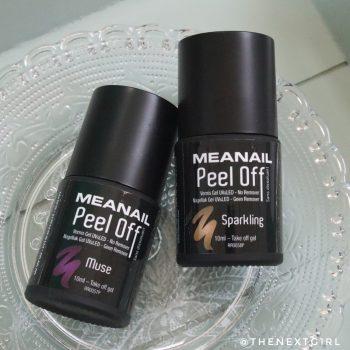 Meanail Paris Peel Off gel nagellak Sparkling Muse