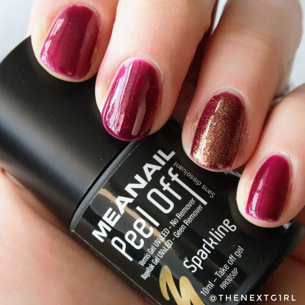 Meanail Peel Off gel nagellak Sparkling Muse