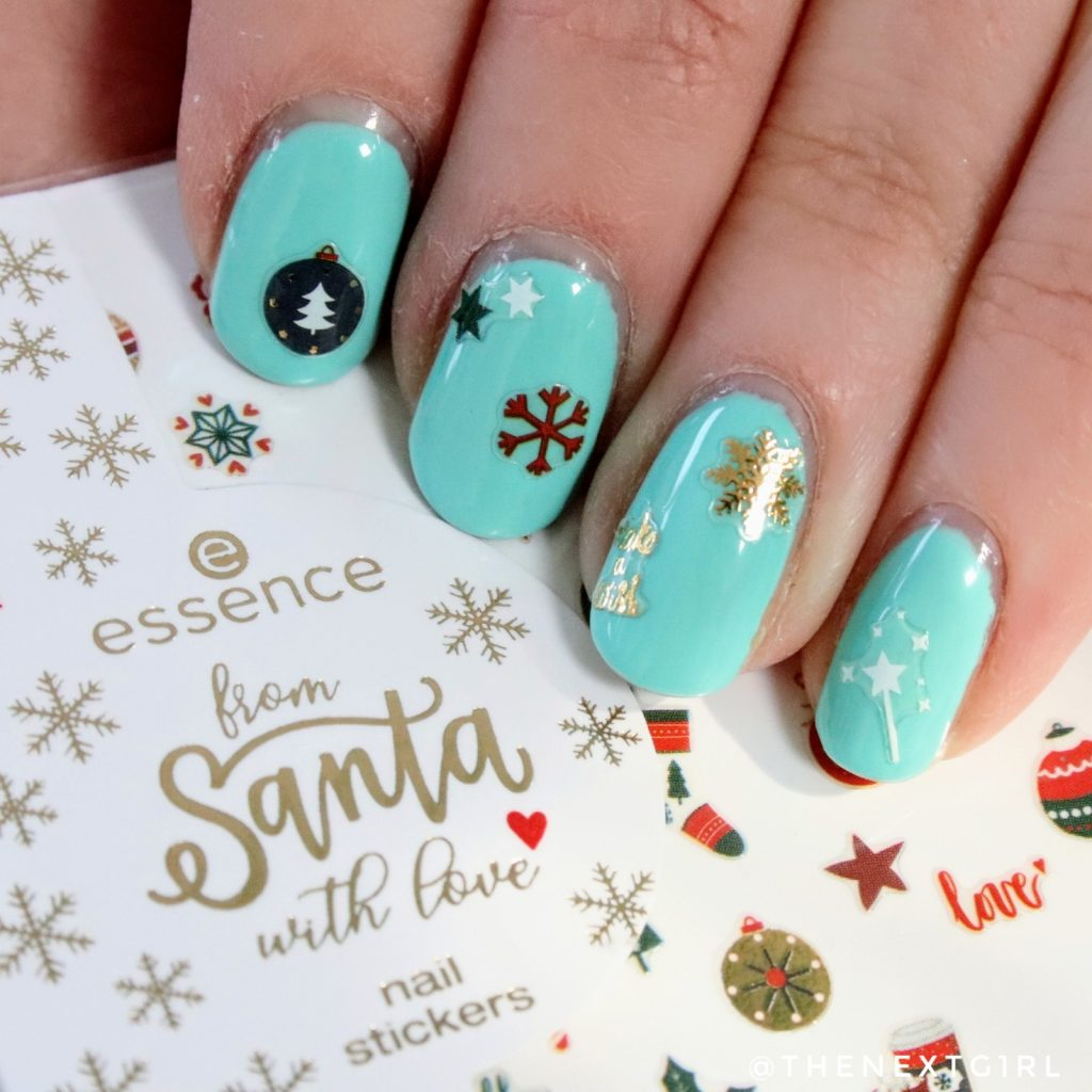 Essence From Santa With Love nailart meanails gellak