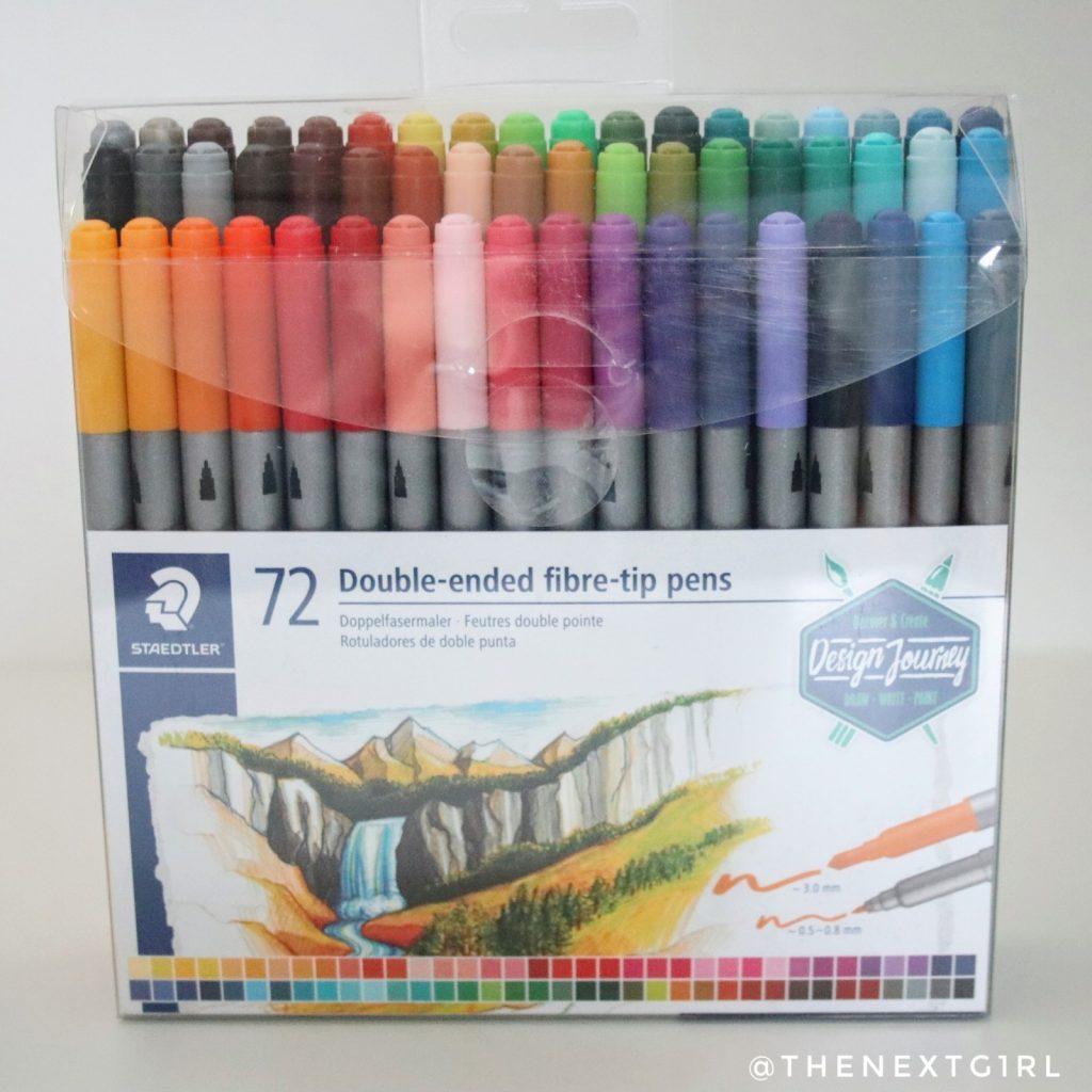 Staedtler Double-ended fibre-tip pens slecht