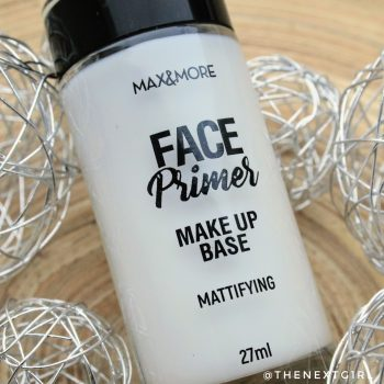 Max & More Mattifying Face Primer