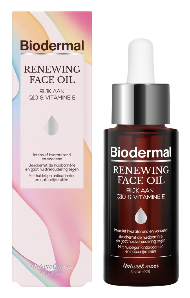 Biodermal Renewing Face Oil verpakking