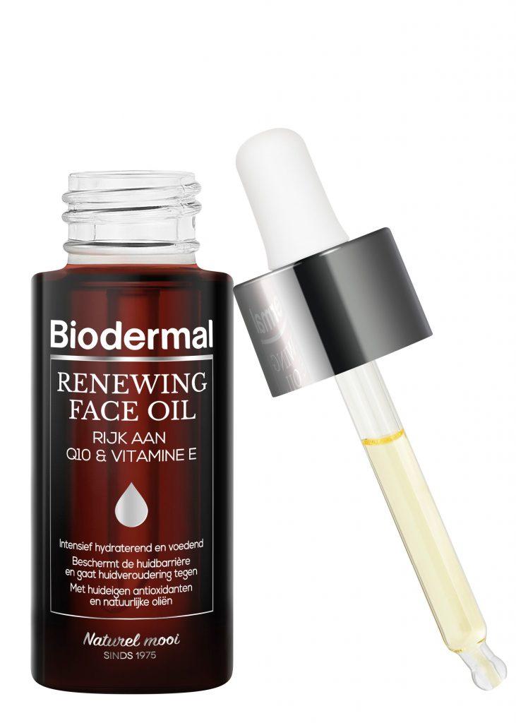 Biodermal Renewing Face Oil pipet