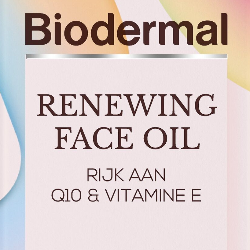 Biodermal Renewing Face Oil square