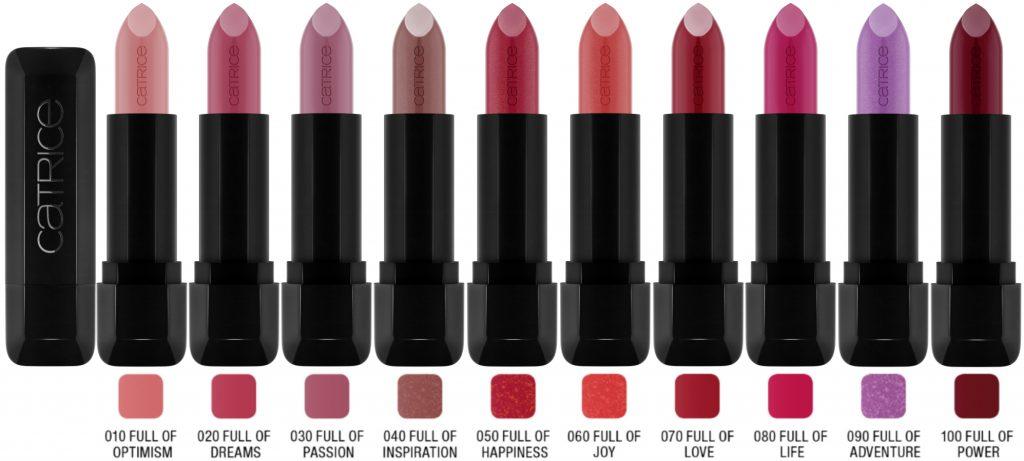 Catrice Full Satin Lipstick 10 kleuren lente zomer 2020