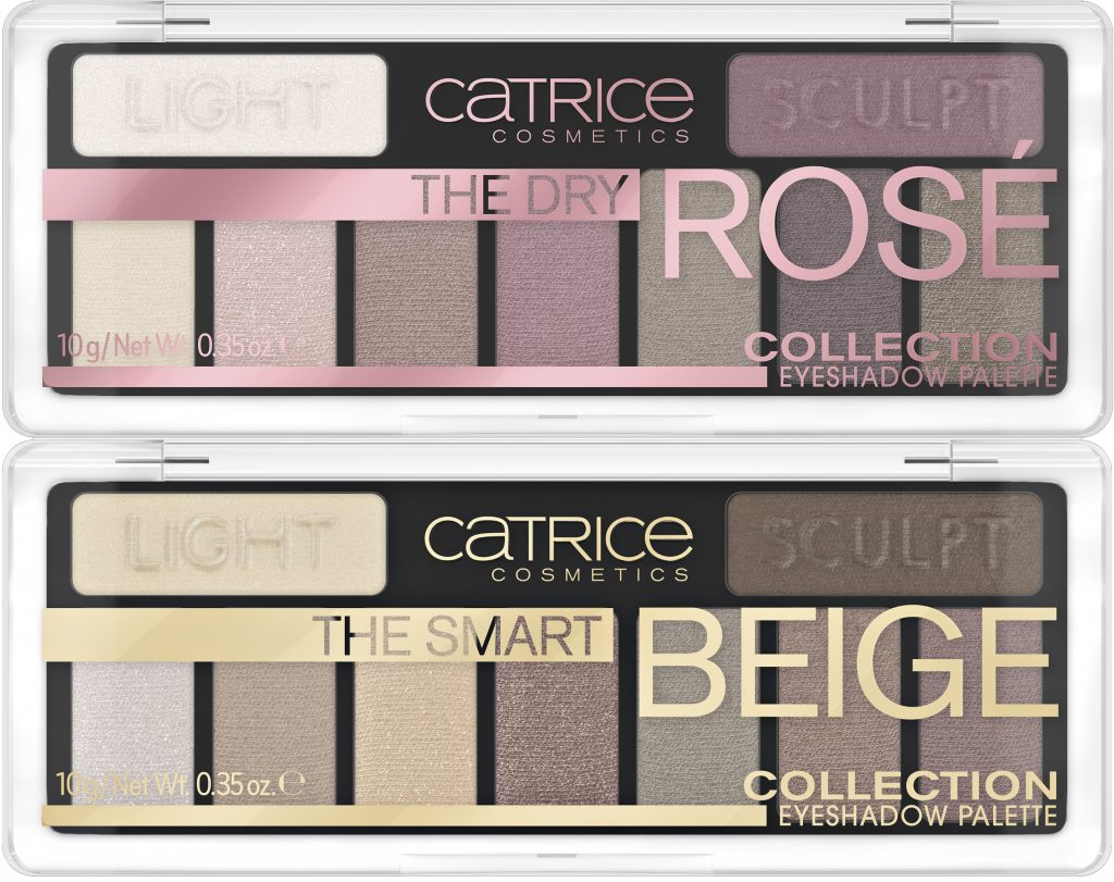 Catrice The Dry Rosé The Smart Beige Eyeshadow Palette 2020
