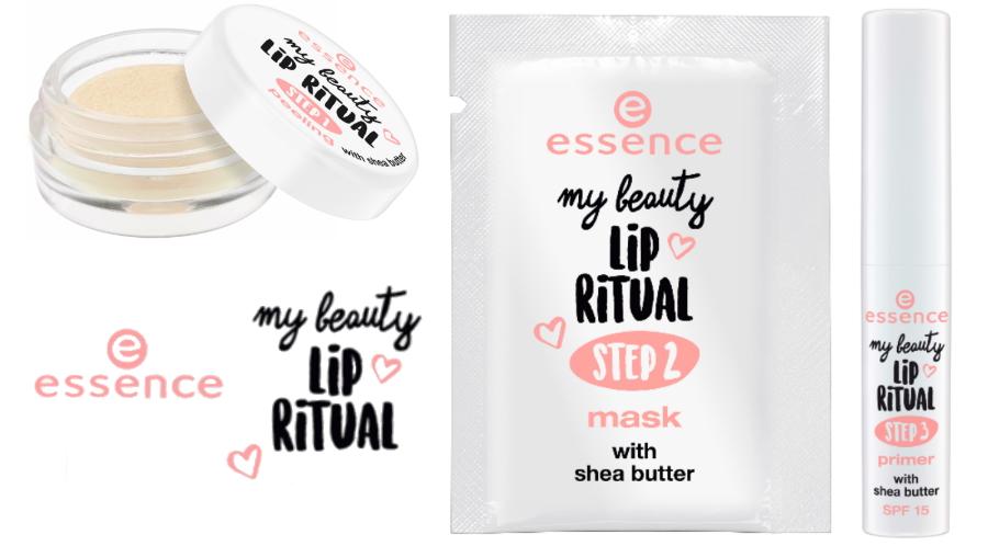 Essence My Beauty Lip Ritual steps serie