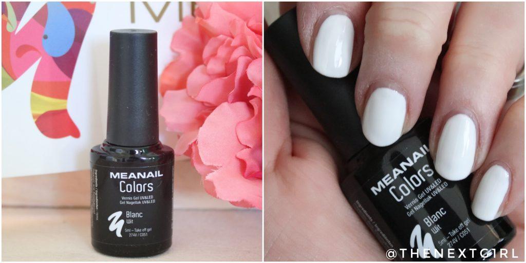 Meanail gel nagellak Blanc