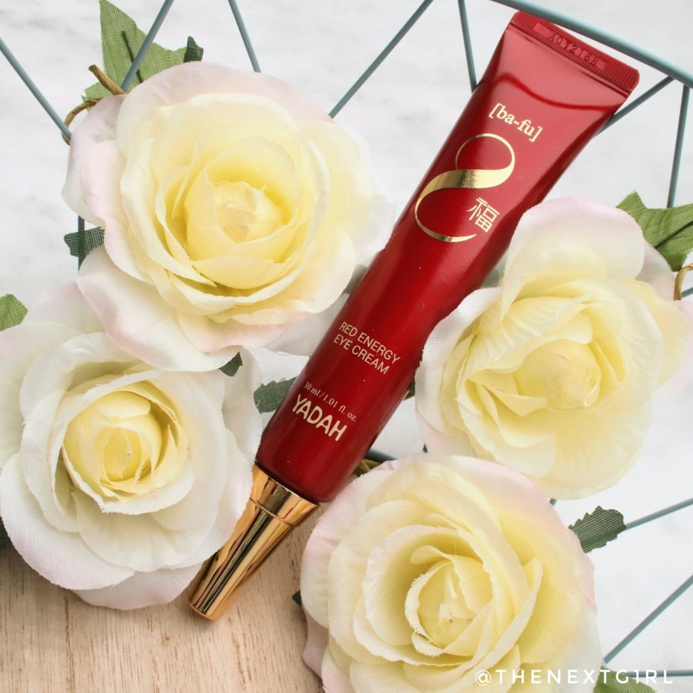 Yadah Red Energy Eye Cream oogcreme k-beauty