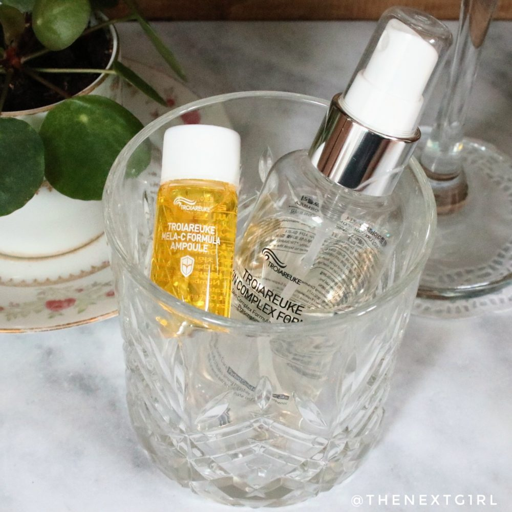 Troiareuke H+ Cocktail Radiance Ampoule K-beauty