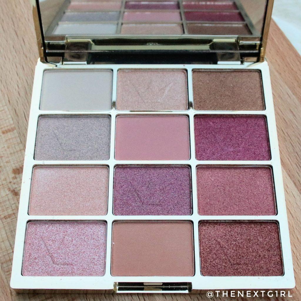 Essence Pink Glitter Show oogschaduw palette kleuren