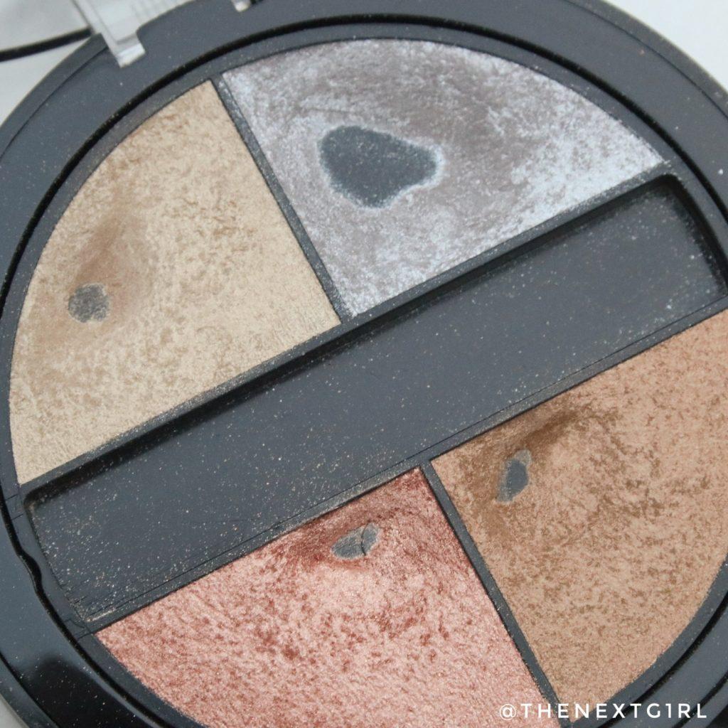Gosh cosmetics quatro oogschaduwpalette pans